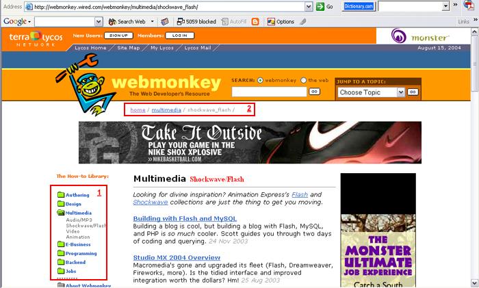 Webmonkey, la plateforme qui a permis à de nombreux internautes de découvrir et comprendre le HTML
